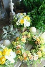 画像1: 小花のビタミンリース (1)