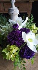 画像5: カノンユーチャリス ( 花器 : ゴールド ) (5)